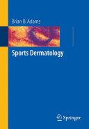 Pdf Sports Dermatology Telecharger