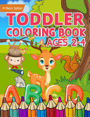 Toddler Coloring Book Ages 2 4