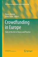 Crowdfunding in Europe Book