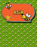 Handwriting Practice 120 Page Honey Bee Book Asia