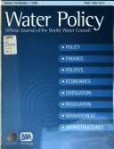 Water Policy Book