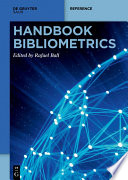 Handbook Bibliometrics