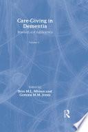 Care Giving In Dementia