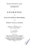 Elements of Geometry  and Plane and Spherical Trigonometry