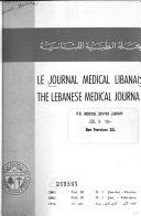 Journal médical libanais