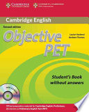 Objective Pet Student S Book Without Answers With Cd Rom Book PDF