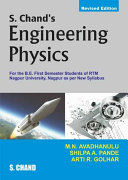 S. Chand's Engineering Physics (For 1st Semester of RTM University, Nagpur)