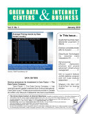 Green Data Centers Monthly Newsletter January 2010 Book PDF