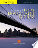 Cengage Advantage Books Foundations Of The Legal Environment Of Business