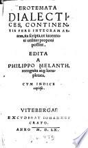 Erotemata Dialectices