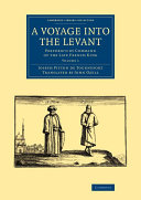 Pdf A Voyage into the Levant