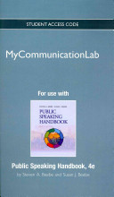 New Mycommunicationlab Without Pearson Etext -- Standalone Access Card -- For Public Speaking Handbook