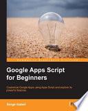 Google Apps Script for Beginners
