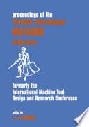 Proceedings of the Thirtieth International MATADOR Conference Book