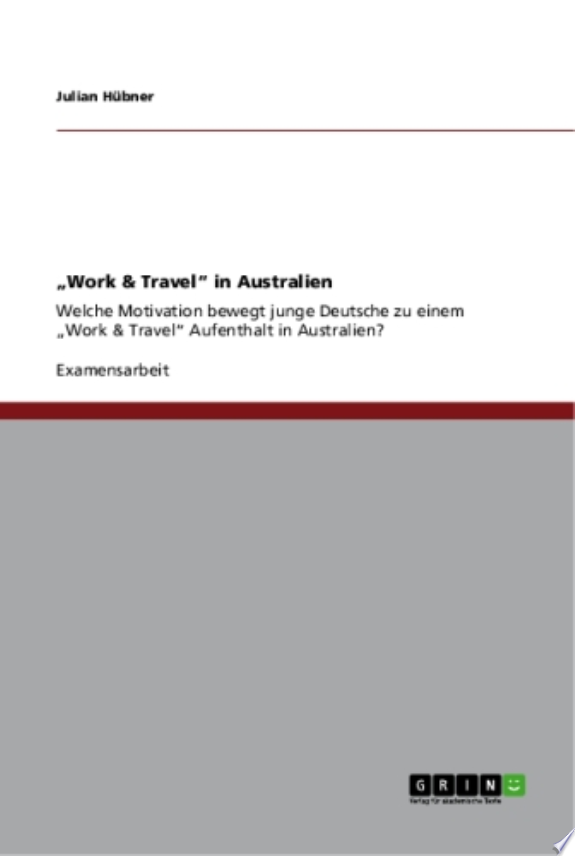 'Work & Travel' in Australien