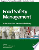 Food Safety Management Book