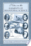 Notes On The Elements Of Behavioral Science Book PDF