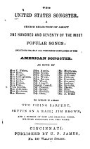 The United States Songster