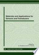 Materials and Applications for Sensors and Transducers Book