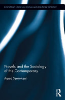 Novels and the Sociology of the Contemporary Pdf/ePub eBook