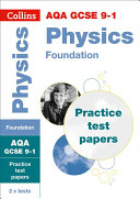 AQA GCSE 9-1 Physics Foundation Practice Test Papers