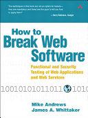 How to Break Web Software ebook