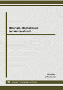 Materials  Mechatronics and Automation II