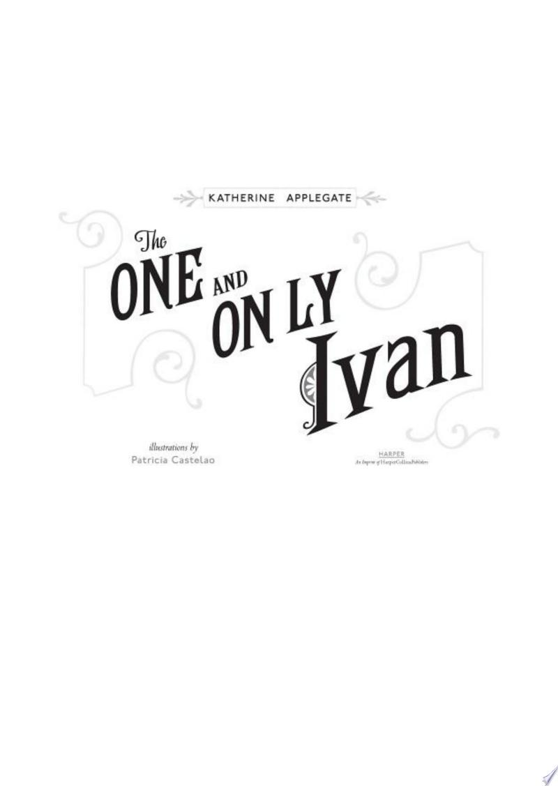 The One and Only Ivan image