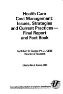 Health Care Cost Management