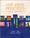 Cover of Real Estate Principles