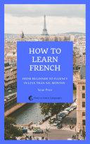 How to Learn French Pdf/ePub eBook