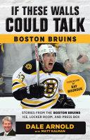If These Walls Could Talk: Boston Bruins Pdf/ePub eBook
