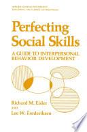 Perfecting Social Skills
