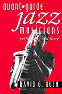 Avant garde Jazz Musicians
