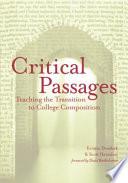 Critical Passages