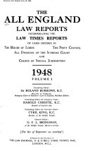 The All England Law Reports