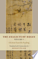 The Analects Of Dasan Book PDF