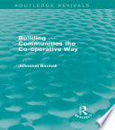 Building Communities (Routledge Revivals)