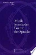 Musik jenseits der Grenze der Sprache