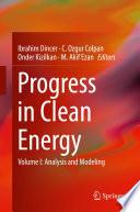 Progress in Clean Energy  Volume 1