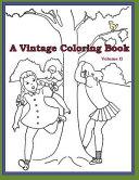 A Vintage Coloring Book (Volume 2)
