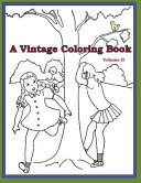 A Vintage Coloring Book  Volume 2