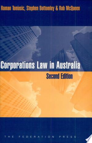 Read Book Corporations Law in Australia Free PDF - Read Full Book