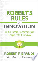 Robert s Rules of Innovation