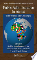 Public Administration In Africa