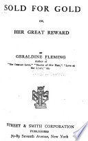 Sold for Gold; Or, Her Great Reward
