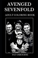 Avenged Sevenfold Adult Coloring Book: Legendary Heavy Metal ...