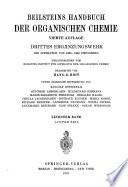 Beilsteins Handbuch der organischen Chemie