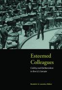 Esteemed Colleagues Pdf/ePub eBook