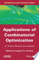 Applications Of Combinatorial Optimization Book PDF